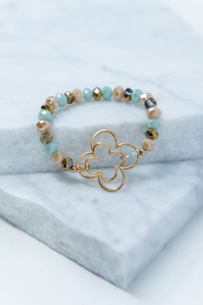 Out For The Day Bracelet, Mint