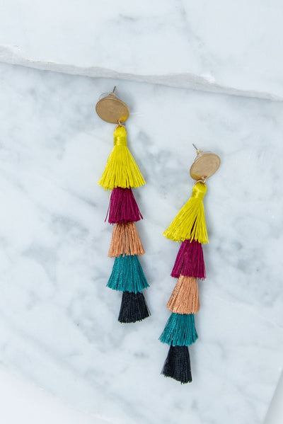 Beauty In Bold Earrings, Multi