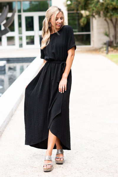 Chasing Beauty Maxi Dress, Black