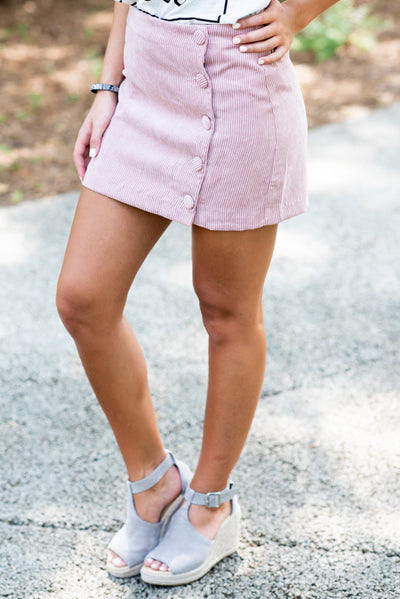 The Marsha Skirt, Pink