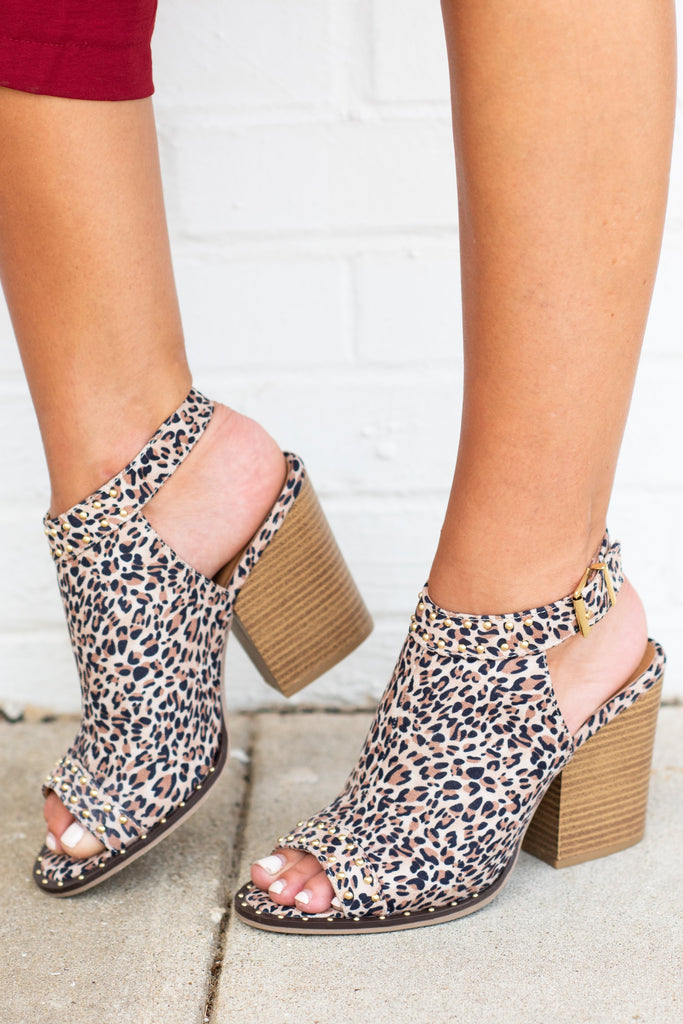 Too Sassy Booties, Leopard