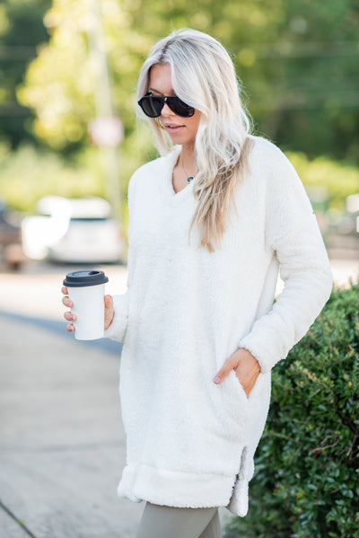 Stay In Tunic, White