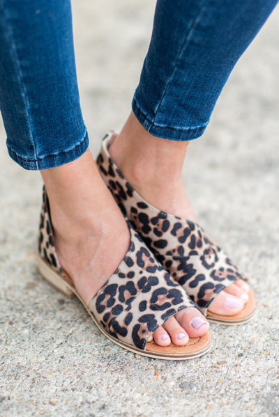 Let's Meet Up Booties, Leopard