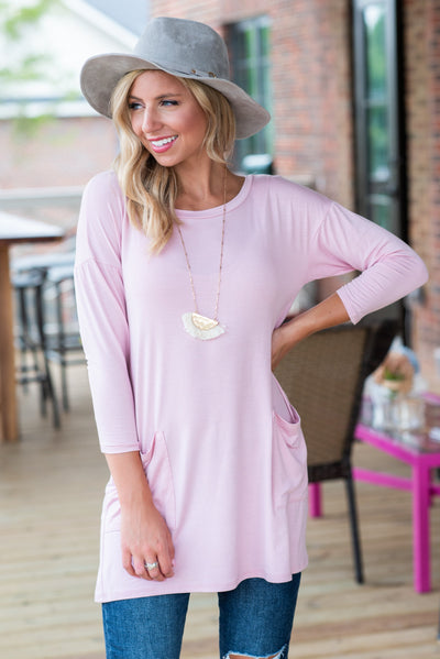 Medley In Love Tunic, Rose Pink