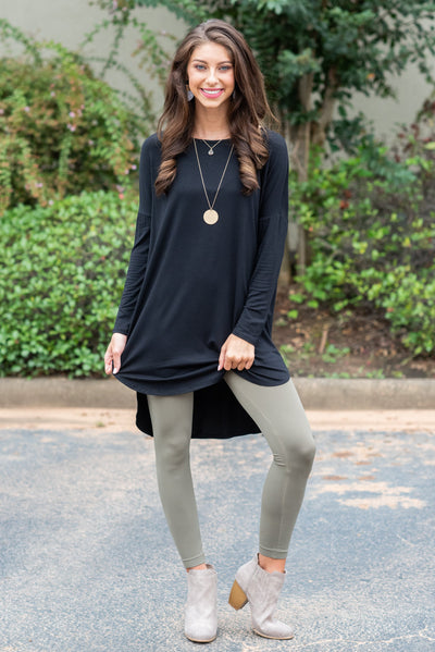 Simple Love Tunic, Black
