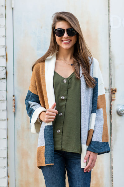 Active Fall Cardigan, Multi