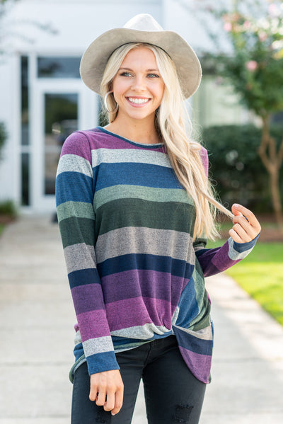 Sweet Embrace Tunic, Purple