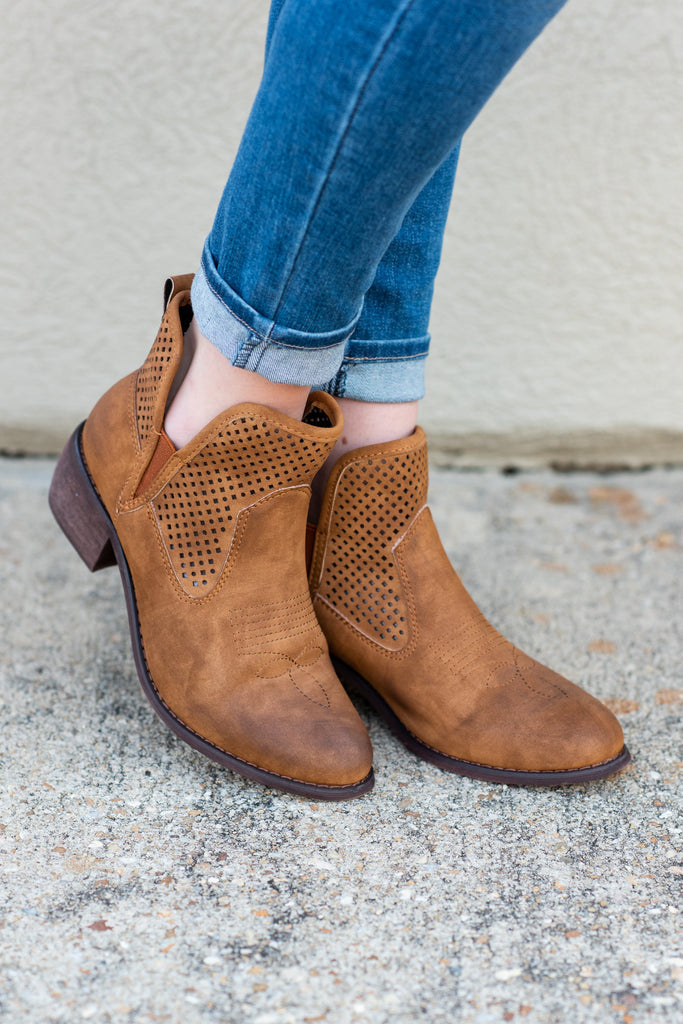 All Your Own Booties, Tan