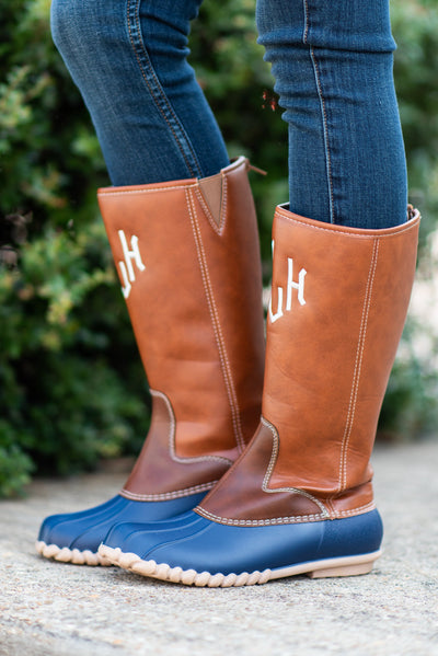Splash Around Boots, Navy