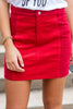 Be Your Best Skirt, Red