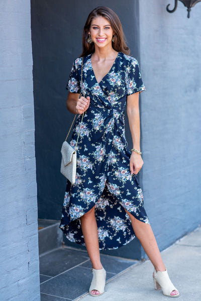 Hoping For This Maxi Dress, Navy