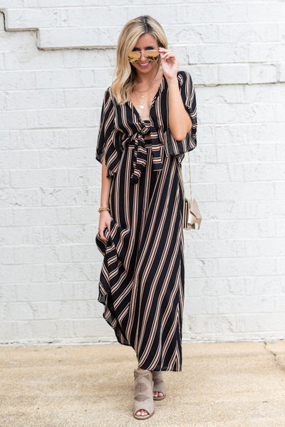 Take Another Look Maxi Dress, Black