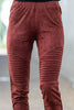Let's Ride Leggings, Red Brown