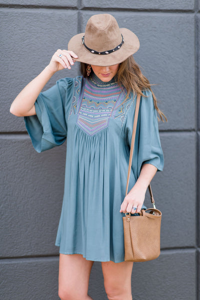 Any Moment Dress, Sea Green