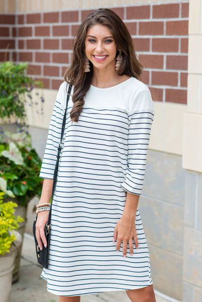 Talk About Easy Dress, Ivory