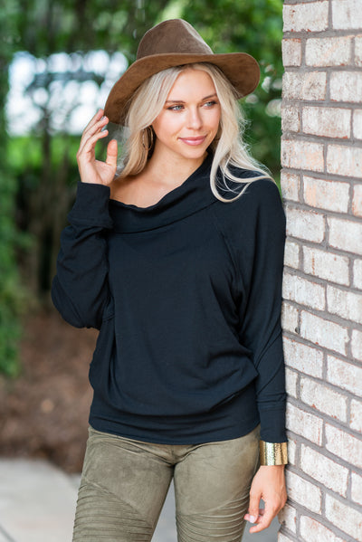 Easy Perfection Tunic, Black