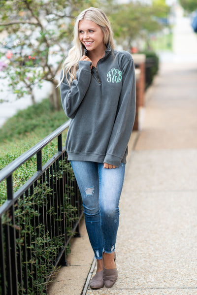 Comfort Colors: The Warm Up Pullover, Pepper