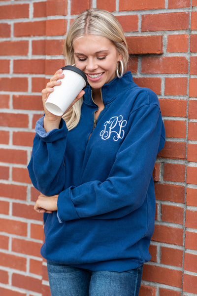 Comfort Colors: The Warm Up Pullover, True Navy