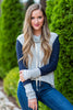Running To You Pullover, Heather Gray-Navy