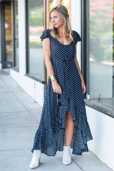 Keeping It Classic Maxi Dress, Navy