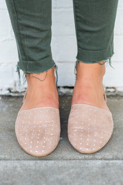 Tell Me About It Flats, Warm Taupe