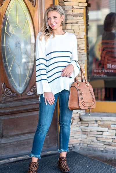 Casual Intentions Sweater, Off White