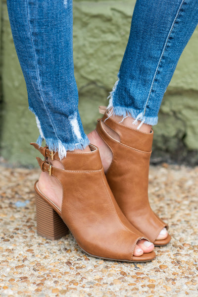 Match Your Love Booties, Tan
