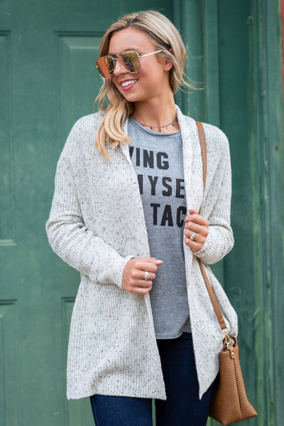 Mud Pie: The Surrie Cardigan, Cream