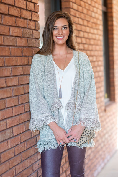 Mud Pie: The Livvy Cardigan, Cream