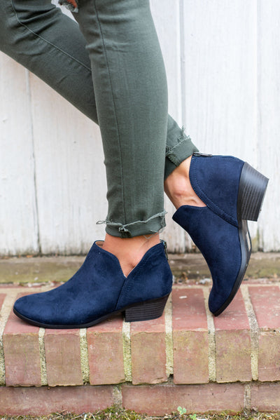 Successful Adventures Booties, Navy