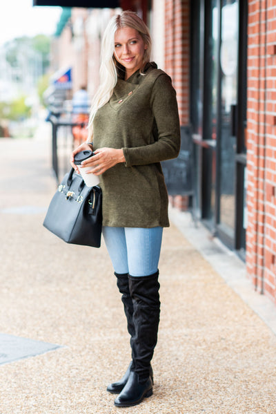 Perfect Example Tunic, Olive