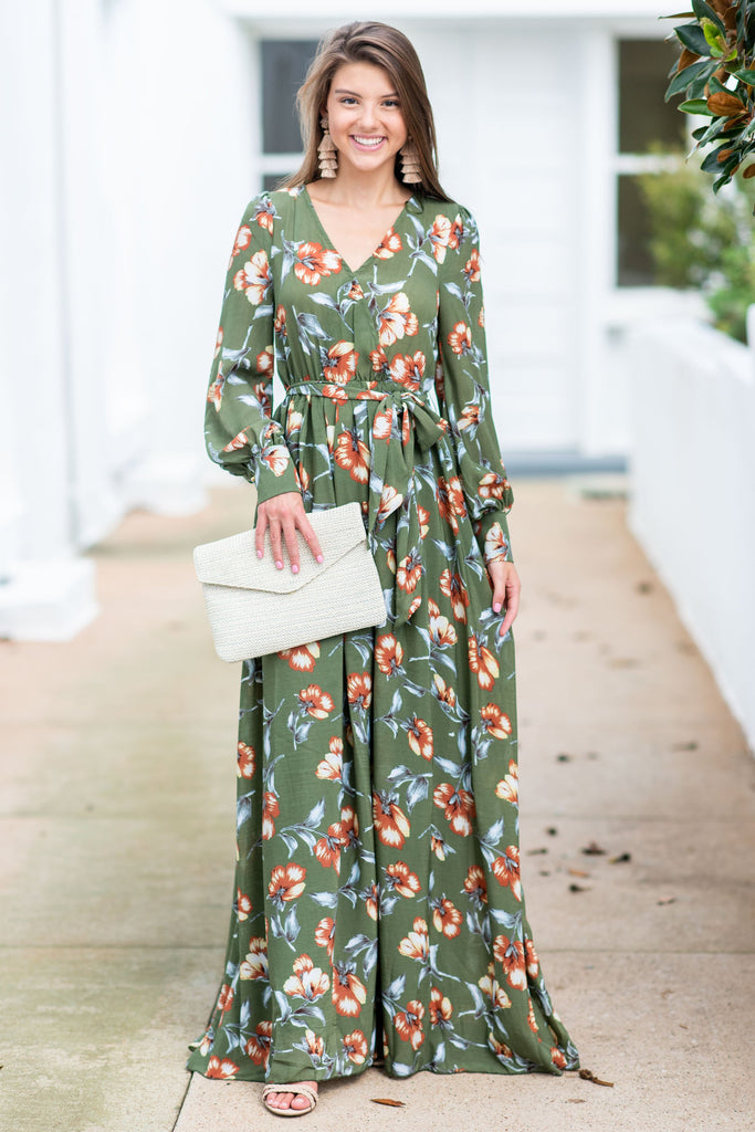 b3a7bc90ec372 Back In Action Maxi Dress