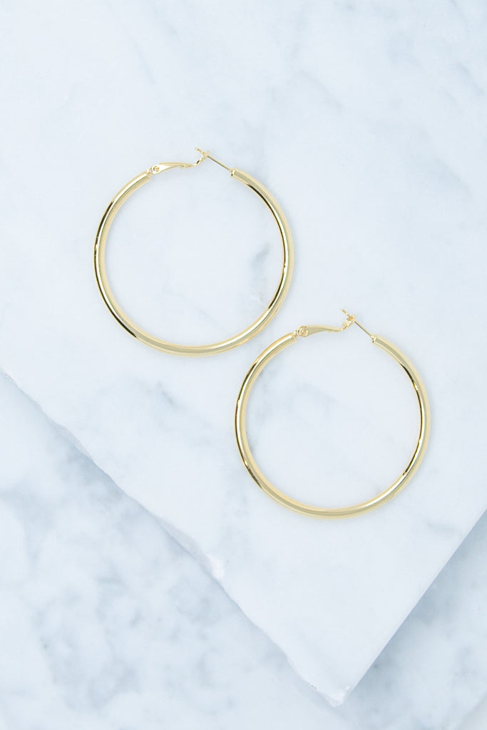Classic Cares Earrings, Gold