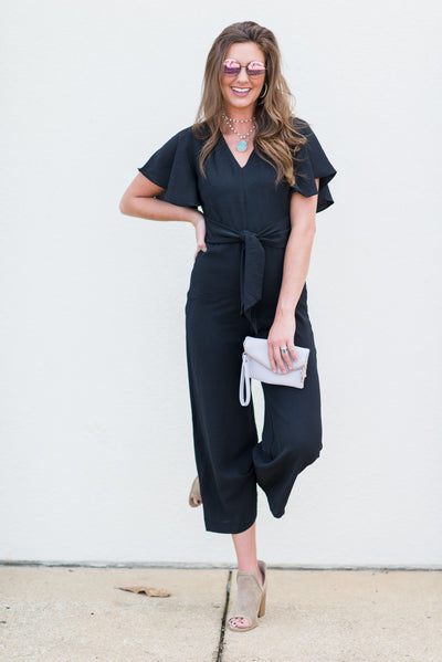 The Smile On Your Face Jumpsuit, Black