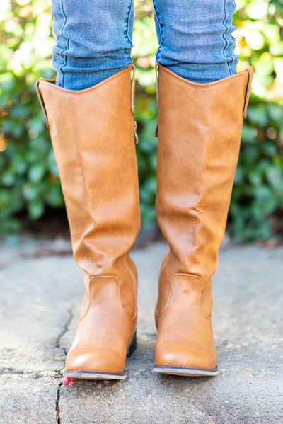 The Georgia Boots, Tan