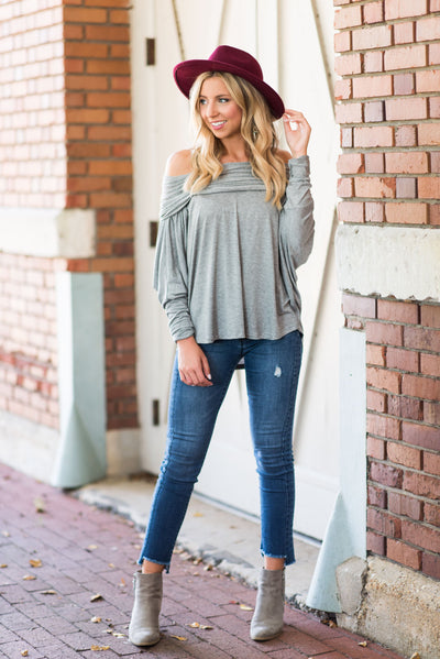In The Spotlight Top, Heather Gray