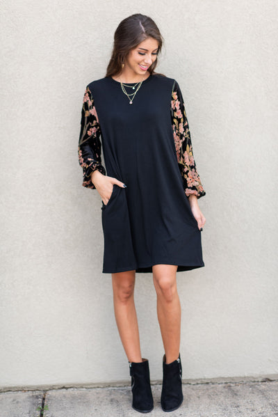 The Seven Wonders Dress, Black