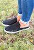 Casual Daze Slide Sneakers, Black