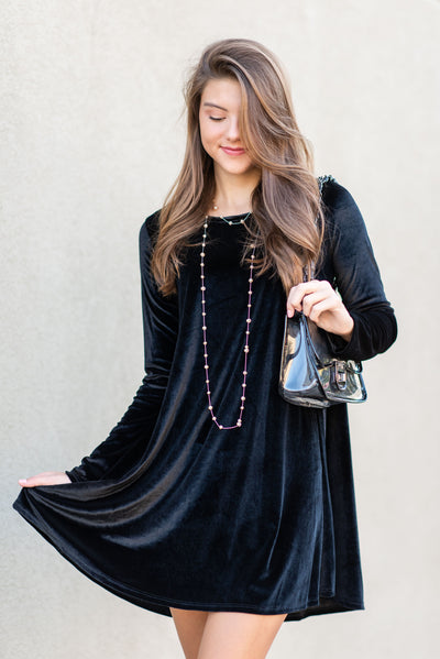 What A Luxury Dress, Black