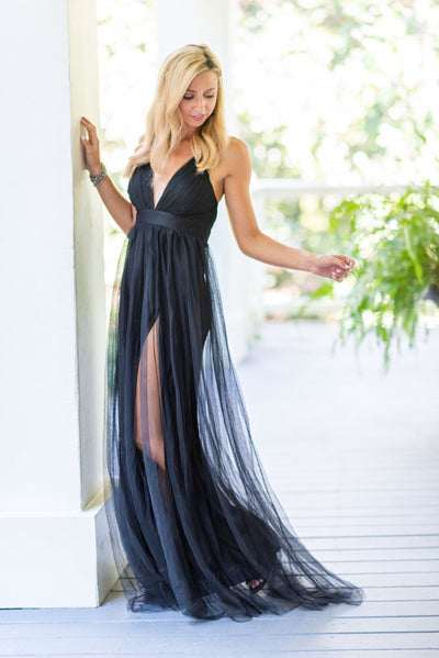 Enchanted Beauty Gown, Black