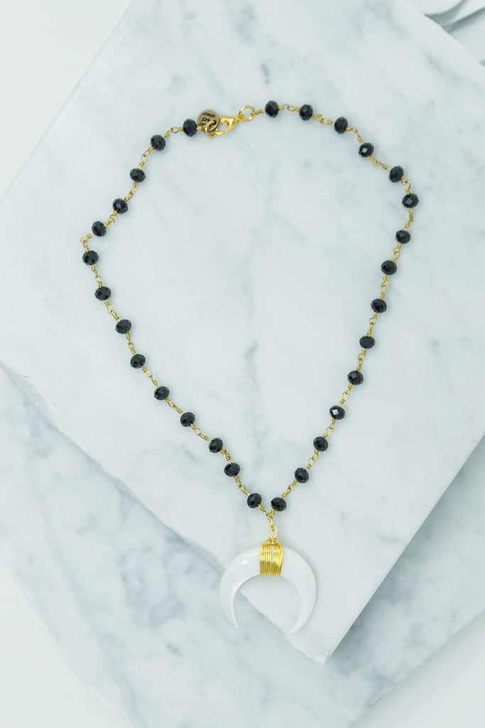 Raw & Rebellious: Daily Delight Necklace, Black