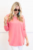 Easy Like Sunday Grapefruit Pink Tunic