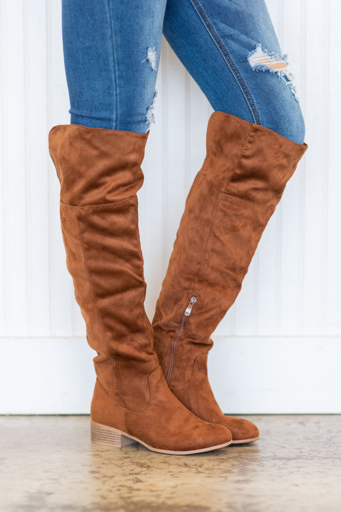 shoes, boots, fall, winter, solid, shopping, everyday, brown, preppy, trendy, light, neutral, zipper, tan