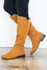shoes, boots, fall, winter, solid, shopping, everyday, zipper, neutral, cognac, brown, bright, trendy