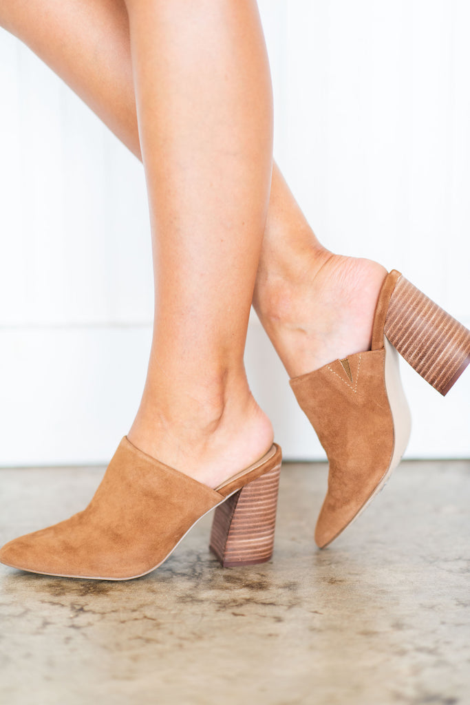 cb7fb2f4fd4 Steve Madden Faux Suede Heeled Mules
