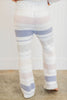 Wonderful Winter PJ Pants, White-Periwinkle