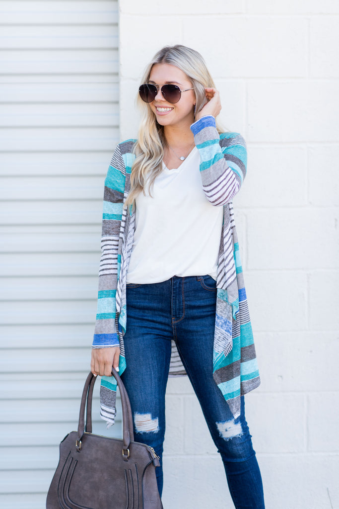 Easy Explanations Cardigan, Mint