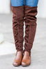 Living For Fab Boots, Brown