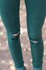 Fun Of The Chase Skinny Jeans, Hunter Green
