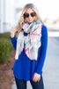 casual, top, layer, blue, long sleeve